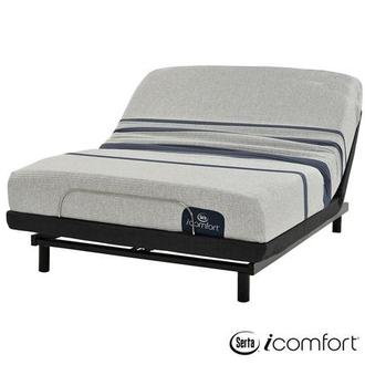 iComfort Blue 100 Full Mattress w/Essentials III Powered Base by Serta