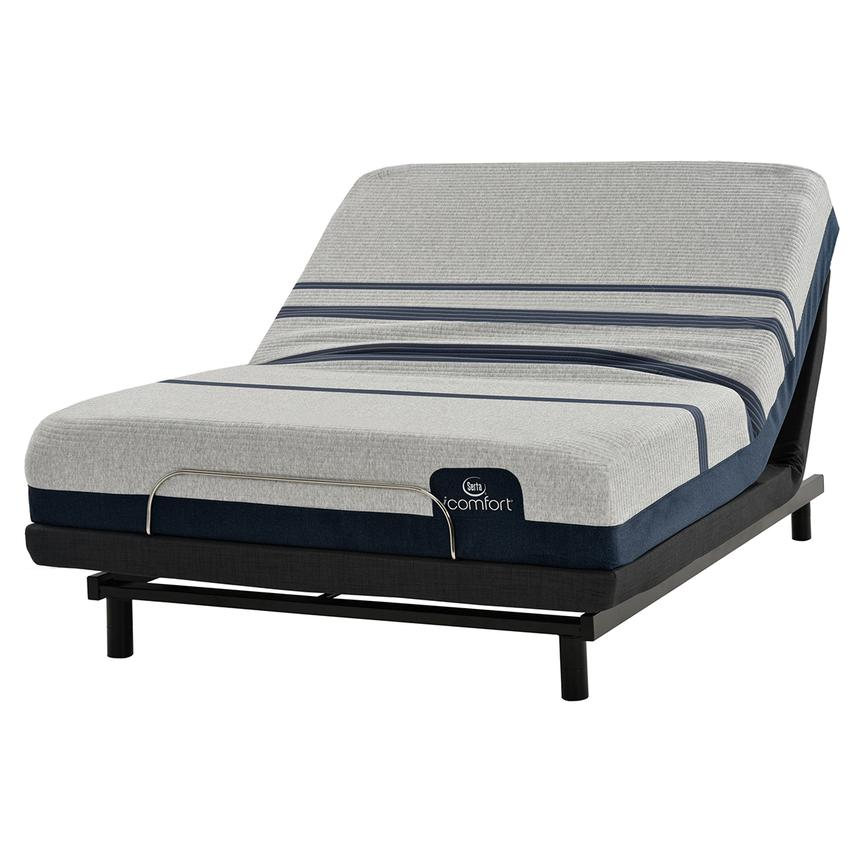 iComfort Blue 300 Twin XL Mattress w/Essentials III Powered Base by Serta  main image, 1 of 2 images.