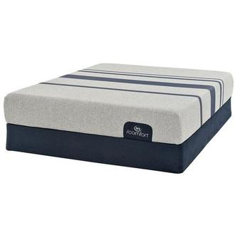 iComfort Blue 100 Twin XL Mattress w/Regular Foundation by Serta