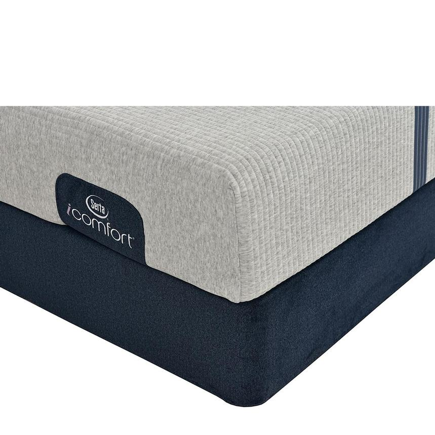 iComfort Blue 100 Twin Mattress w/Low Foundation by Serta  main image, 1 of 5 images.