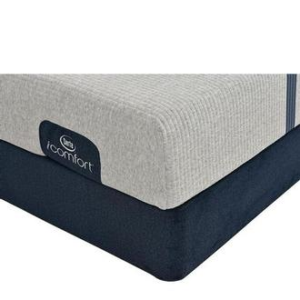 iComfort Blue 100 Twin Mattress w/Low Foundation by Serta