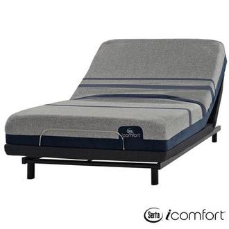 iComfort Blue Max 1000 Plush Twin XL Mattress w/Essentials III Powered Base by Serta