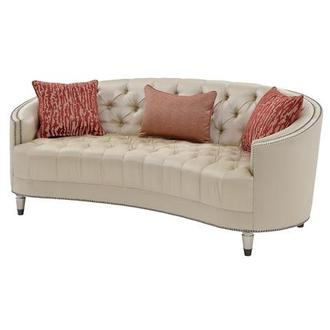 Kimberly Gold Sofa