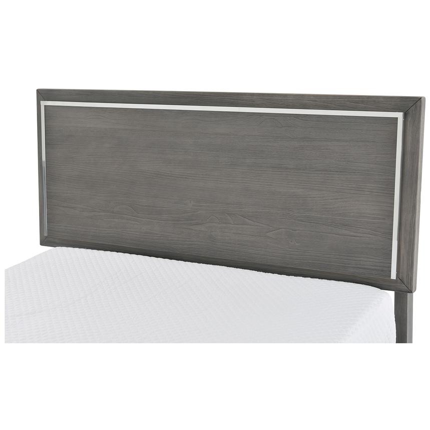 Venezia Gray Full Platform Bed Made in Brazil  alternate image, 4 of 5 images.