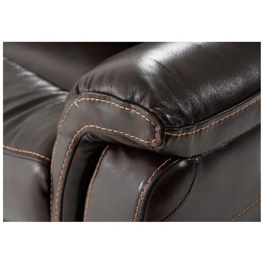 Jeremi Power Motion Leather Sofa w/Right & Left Recliners  alternate image, 5 of 8 images.