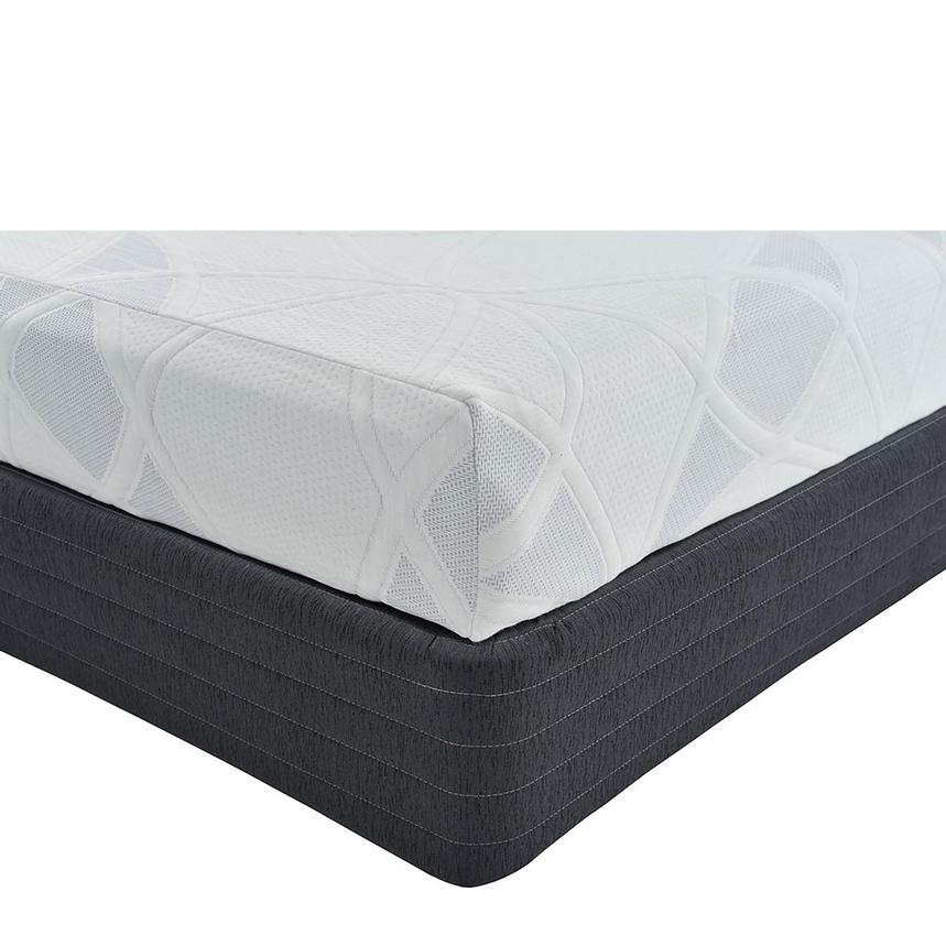 Denali Queen Memory Foam Mattress w/Low Foundation by Carlo Perazzi  main image, 1 of 4 images.