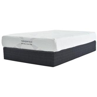 Denali Full Memory Foam Mattress w/Regular Foundation by Carlo Perazzi