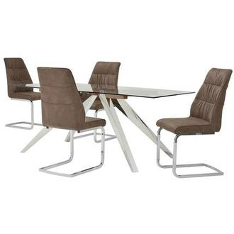 Choco 5-Piece Casual Dining Set