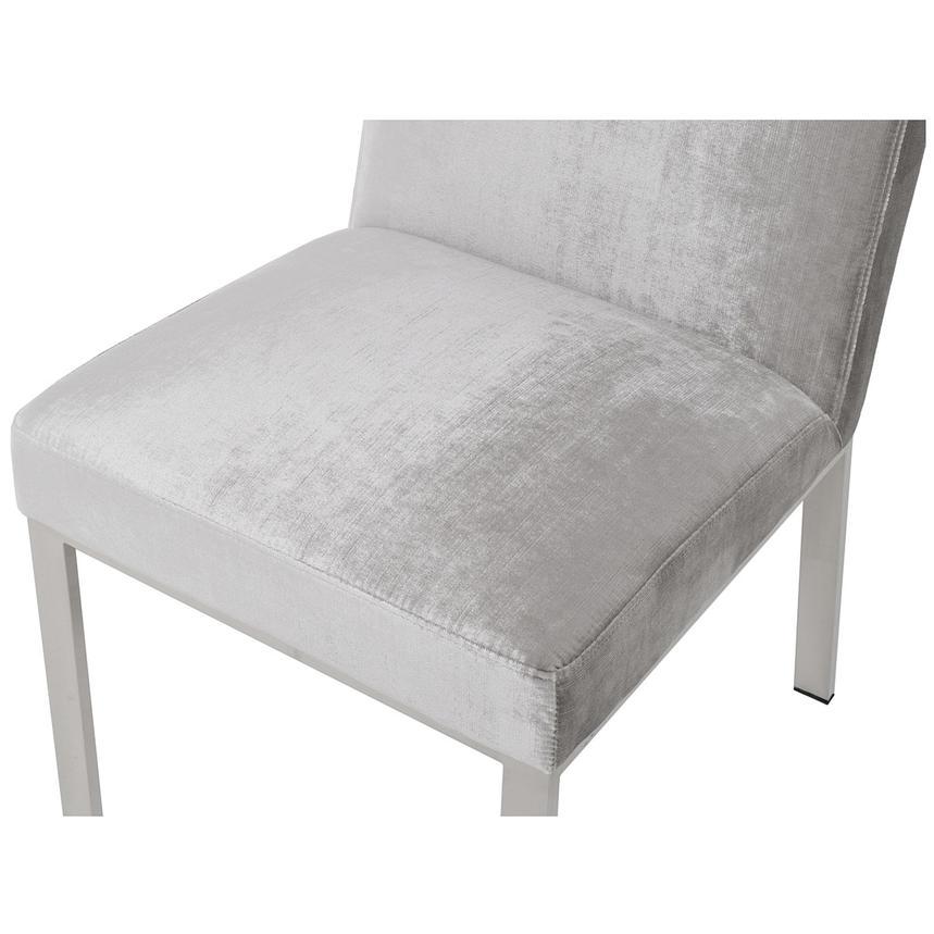 Wellington Light Gray Side Chair El Dorado Furniture