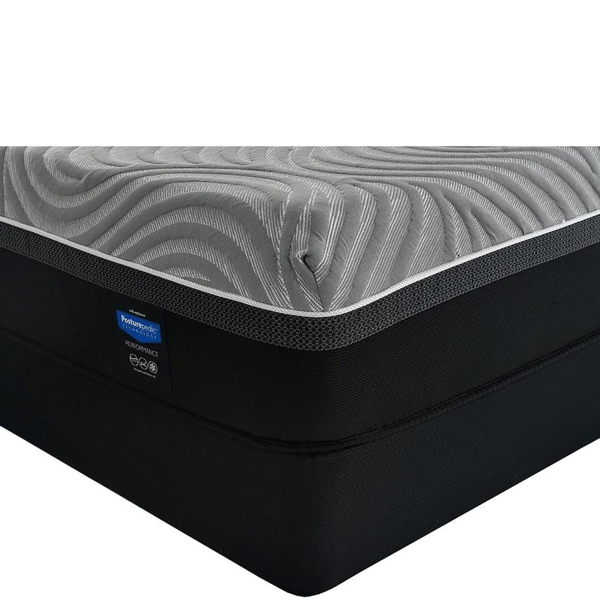 Copper II Twin XL Mattress w/Low Foundation by Sealy Posturepedic Hybrid  main image, 1 of 6 images.