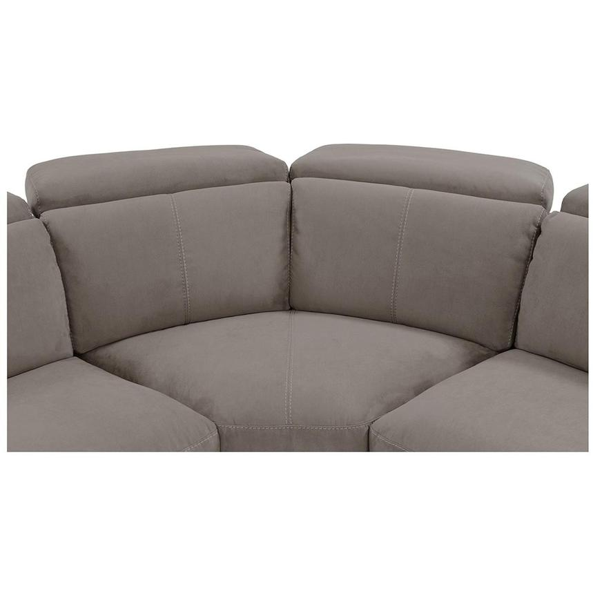 Jameson Dark Gray Power Motion Sofa w/Right & Left Recliners  alternate image, 5 of 9 images.