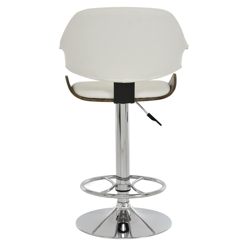 Chia White Adjustable Stool  alternate image, 5 of 8 images.