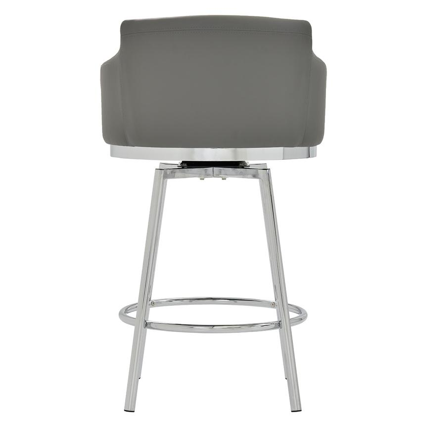 Dusty Gray Swivel Counter Stool  alternate image, 4 of 6 images.