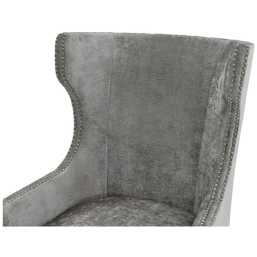 Sonia Gray Accent Chair  alternate image, 5 of 7 images.