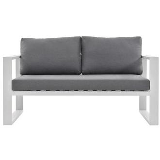 Mykonos Gray Loveseat