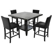 Caspian 5-Piece High Dining Set  main image, 1 of 13 images.
