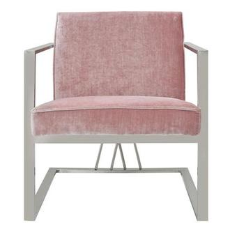 Exceptional Fairmont Pink Accent Chair