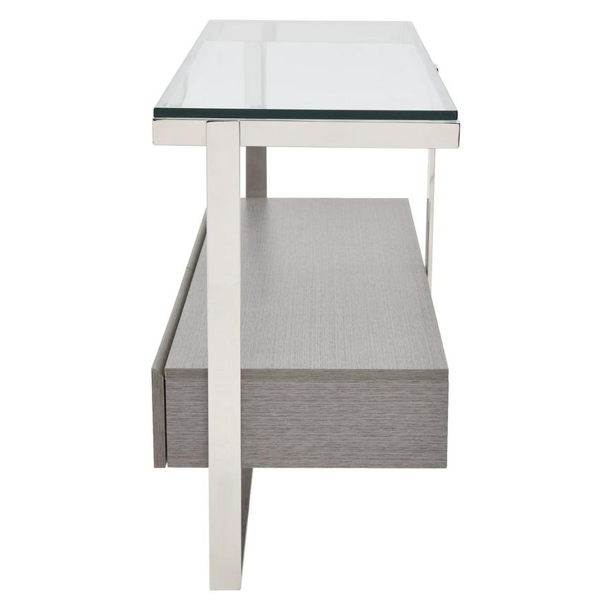 Calypso Matte Gray Console Table  alternate image, 5 of 8 images.