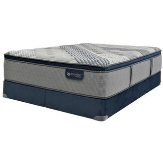 Fusion 1000 PT King Mattress w/Regular Foundation by Serta