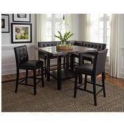 Caspian 5-Piece High Dining Set  alternate image, 2 of 13 images.