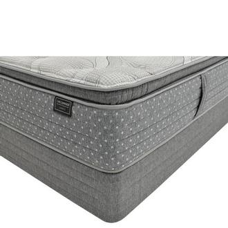 Caprice Queen Mattress w/Low Foundation by Carlo Perazzi