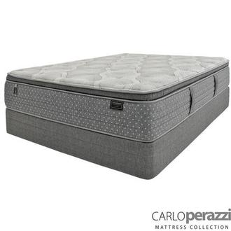 Caprice Twin Mattress w/Regular Foundation by Carlo Perazzi