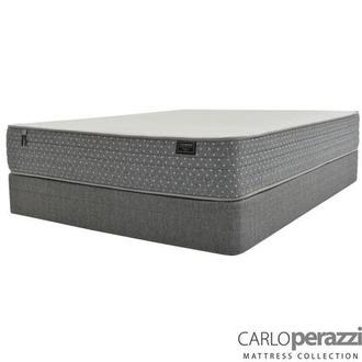 Merano HB Twin Mattress w/Low Foundation by Carlo Perazzi