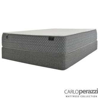 ST. Moritz HB Twin Mattress w/Regular Foundation by Carlo Perazzi