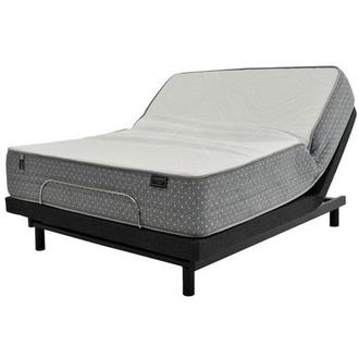 ST. Moritz HB Full Mattress w/Essentials III Powered Base by Serta