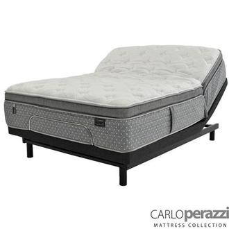 Livorno iFlex King Mattress w/Essentials III Powered Base by Serta