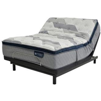 Fusion 300 PT Full Mattress w/Essentials III Powered Base by Serta