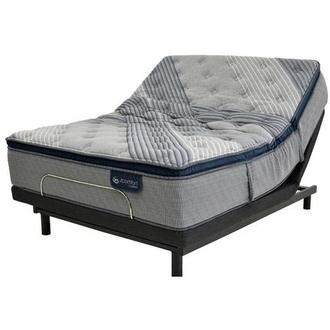 Fusion 1000 PT King Mattress w/Essentials III Powered Base by Serta