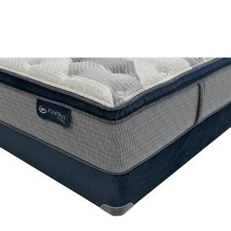 Fusion 300 PT Queen Mattress w/Low Foundation by Serta