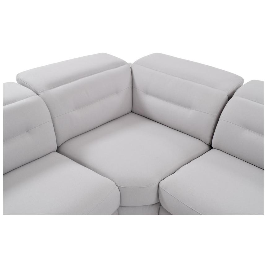 Claribel Power Motion Sofa w/Right & Left Recliners  alternate image, 5 of 8 images.