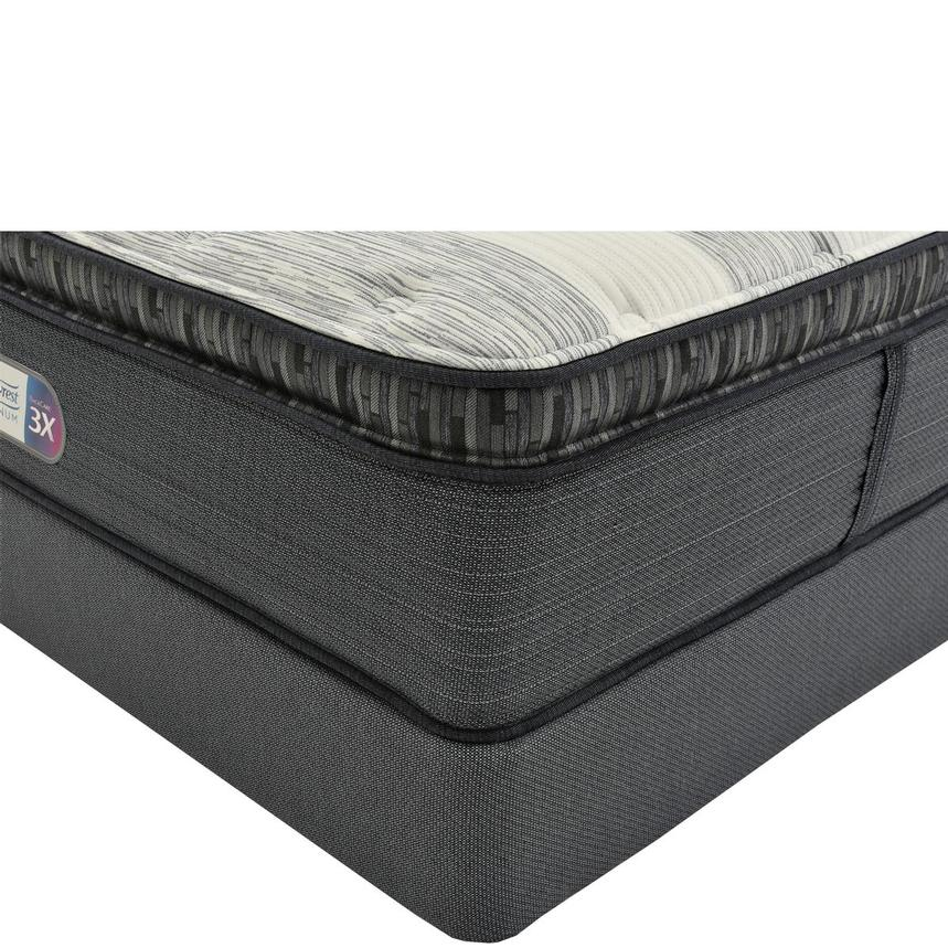Clover Spring PT Twin XL Mattress w/Regular Foundation by Simmons Beautyrest Platinum  main image, 1 of 5 images.