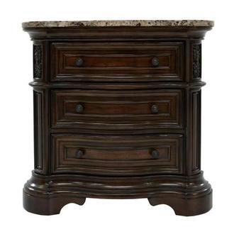 Coventry Tobacco Nightstand El Dorado Furniture