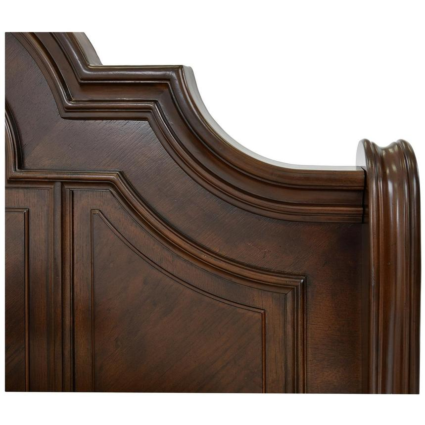 Alexandria King Sleigh Bed  alternate image, 4 of 6 images.