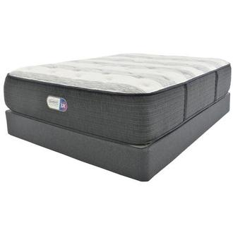 Clover Spring Twin XL Mattress w/Low Foundation by Simmons Beautyrest Platinum