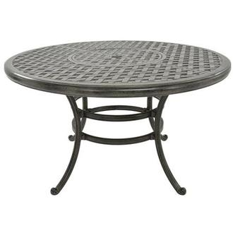 Castle Rock Gray Round Dining Table