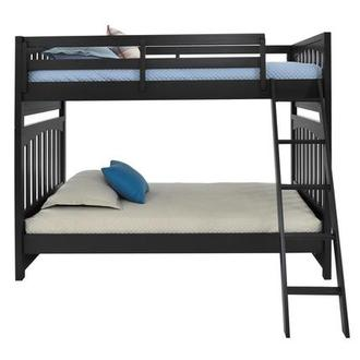 Chris Black Twin Over Twin Bunk Bed