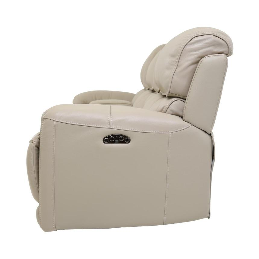 Cody Cream Home Theater Leather Seating w/Right & Left Recliners  alternate image, 4 of 8 images.