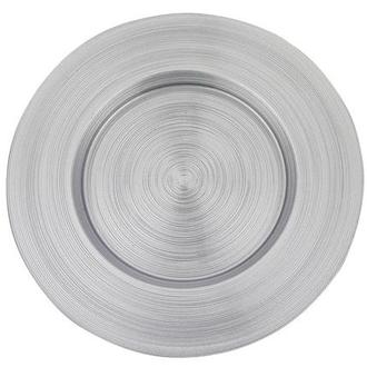 Aurora, Silver Charger Plate