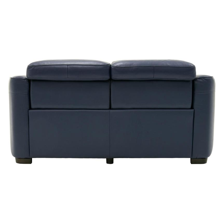 Jay Blue Power Motion Leather Loveseat  alternate image, 5 of 7 images.