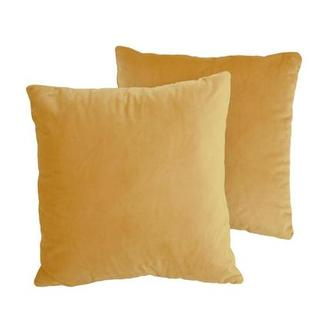 Okru Dark Yellow Two Accent Pillows