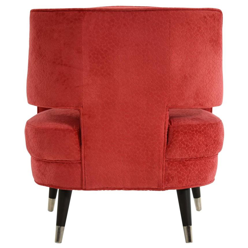 Brooke Red Accent Chair  alternate image, 4 of 6 images.