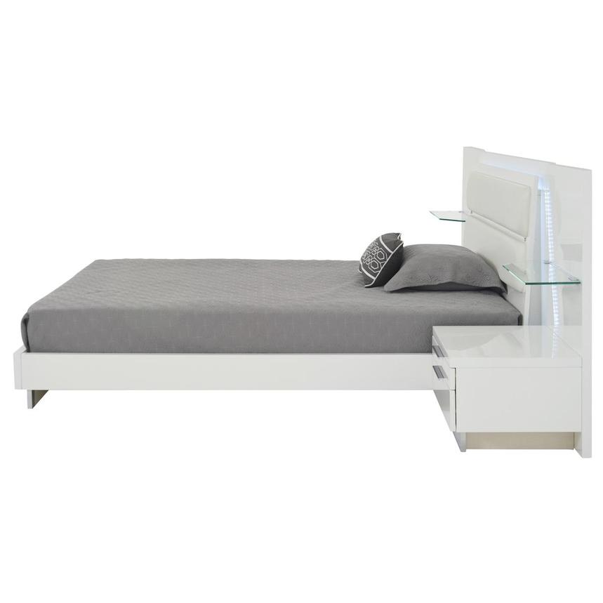 Ally Queen Platform Bed w/Nightstands  alternate image, 4 of 16 images.