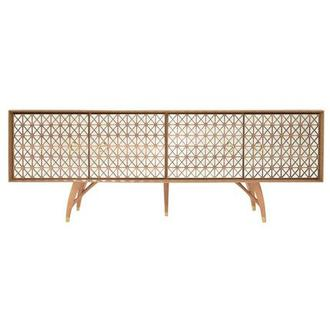 Lola Natural Console Table