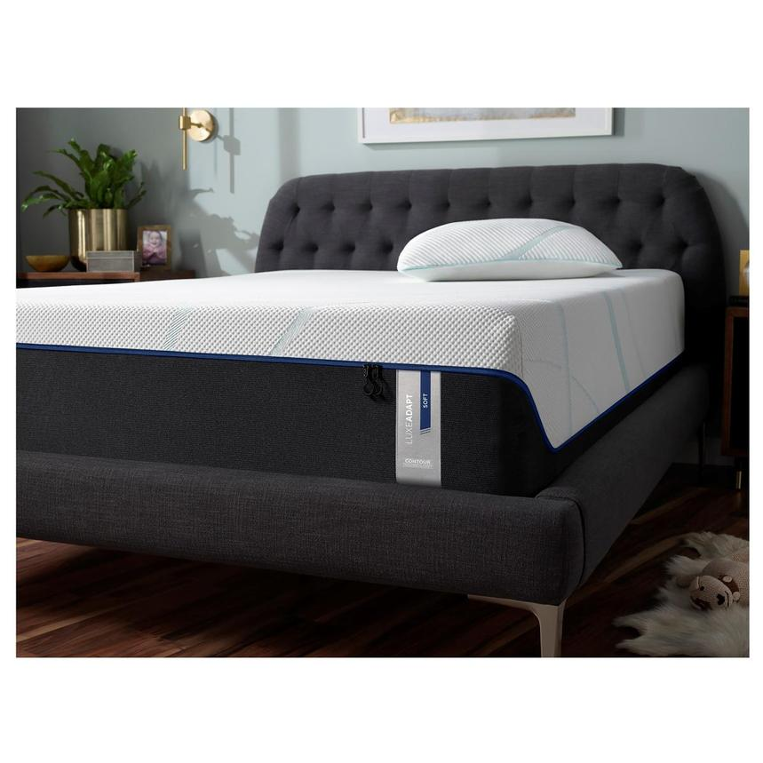 Luxe-Adapt Soft Queen Mattress w/Low Foundation by Tempur-Pedic  alternate image, 2 of 6 images.