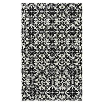 Botanical 4' x 6' Indoor/Outdoor Area Rug
