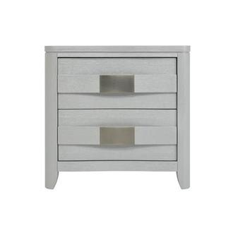 Contour White Nightstand